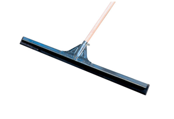 "30"" MOSS FLOOR SQUEEGEE - w/60"" WOOD HANDLE - F5378"