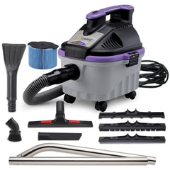 PROTEAM PROGUARD 4 PORTABLE WET/DRY VACUUM w/TOOL KIT