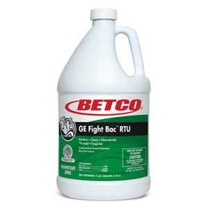 BETCO GE FIGHT BAC RTU CLEANER DISINFECTANT – 1 gal., 4/case