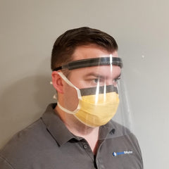 FR1 CLEAR FACE SHIELD (250/case)