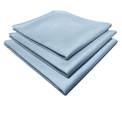 "16"" x 16"" WINDOW MICROFIBRE CLOTHS, (10/pk, 20pk/cs)"