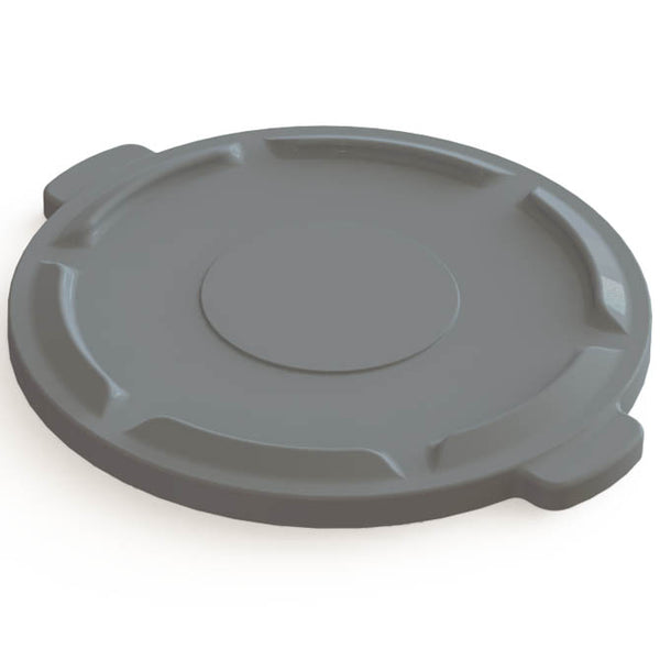 M2 44 gal ROUND CONTAINER LID - Grey
