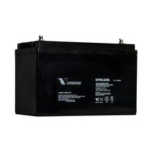 Load image into Gallery viewer, 6FM120SX VISION 12V 120AH RND TERMINAL VRLA AGM BATTERY