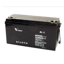 Load image into Gallery viewer, 6FM150 VISION 12V 150AH RND TERMINAL VRLA AGM BATTERY