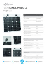 Load image into Gallery viewer, Neuton Power 50W Flexible Polycrystalline PV Module