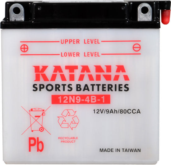 12N9-4B-1 Katana Motorcycle Battery 85CCA 9AH