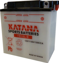 Load image into Gallery viewer, YB10L-B Katana Motorcycle Battery 120CCA 11AH