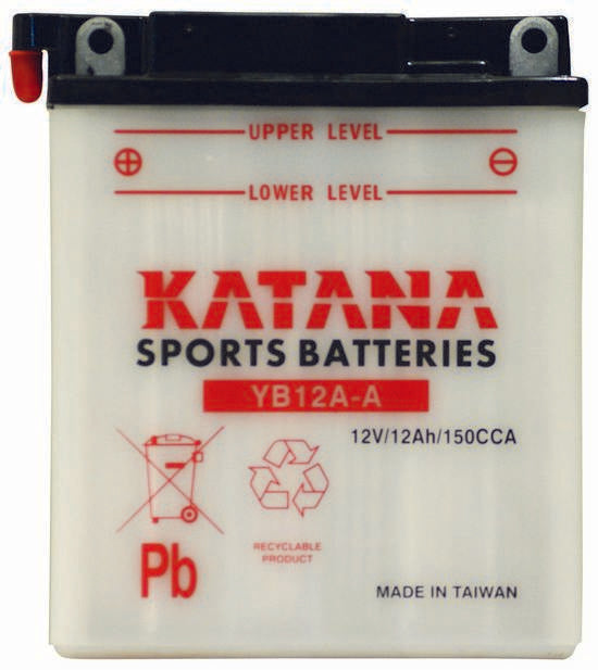 YB12A-A Katana Motorcycle Battery 150CCA 12AH