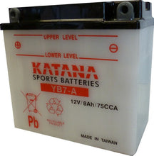 Load image into Gallery viewer, YB7-A Katana Motorcycle Battery 105CCA 8AH