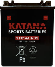 Load image into Gallery viewer, YTX14AH-BS Katana Motorcycle Battery 210CCA 12AH