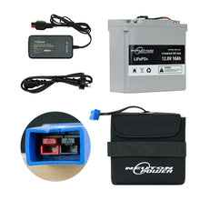 Load image into Gallery viewer, 18 Hole Golf Trundler Upgrade Kit - Lithium Battery With MGI Anderson Plug 16AH