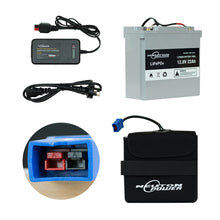 Load image into Gallery viewer, 36 Hole Golf Trundler Upgrade Kit - Lithium Battery With MGI Anderson Plug 22AH
