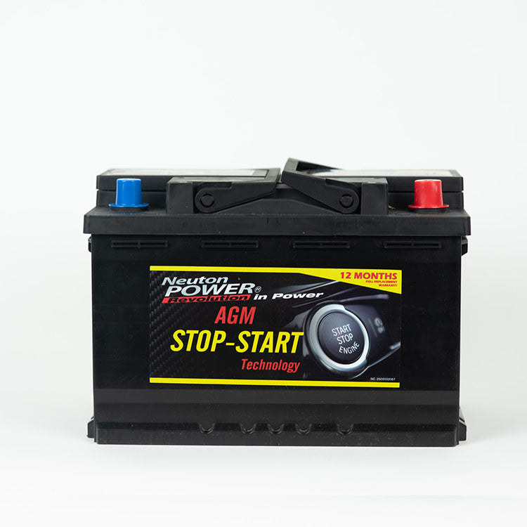 SSAGM70 Neuton Power 760CCA VRL3 Stop Start AGM Battery DIN66AGM DIN70AGM