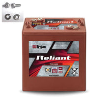 Load image into Gallery viewer, TROJAN RELIANT DEEP CYCLE AGM T105-AGM 6V 217AH BATTERY