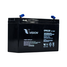 Load image into Gallery viewer, VISION CP SERIES 6V 12AH RND TERMINAL AGM VRLA BATTERY