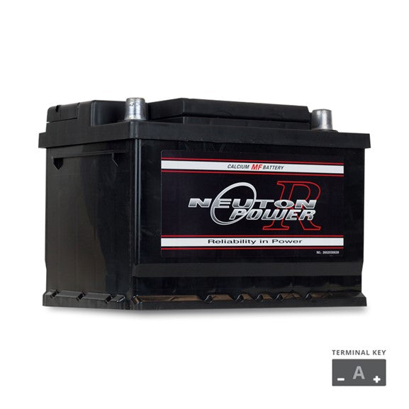 DIN53 EURO MF AUTOMOTIVE BATTERY