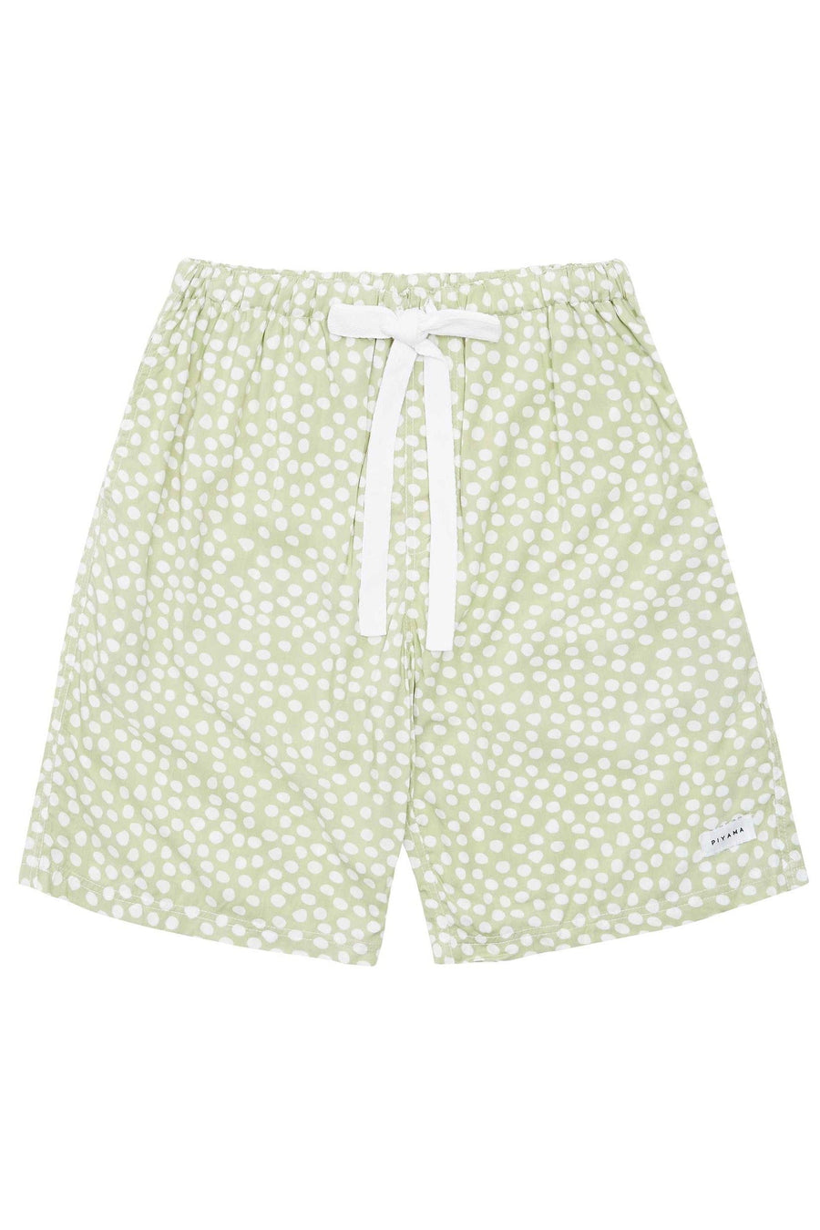 Men's Boxer Shorts - Reverse Dot - Sage Green