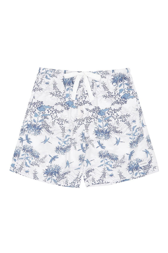 Men's Boxer Shorts - Summer Toile Aegean Blue