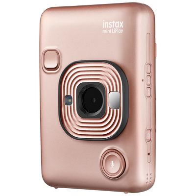 Momentinis fotoaparatas instax mini LiPlay Blush Gold