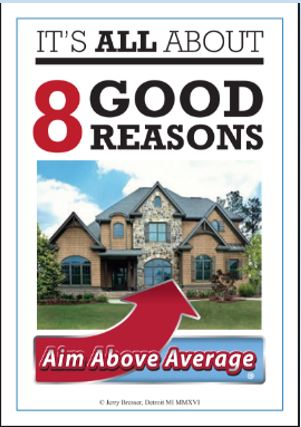'Eight Good Reasons' Listing Conversation