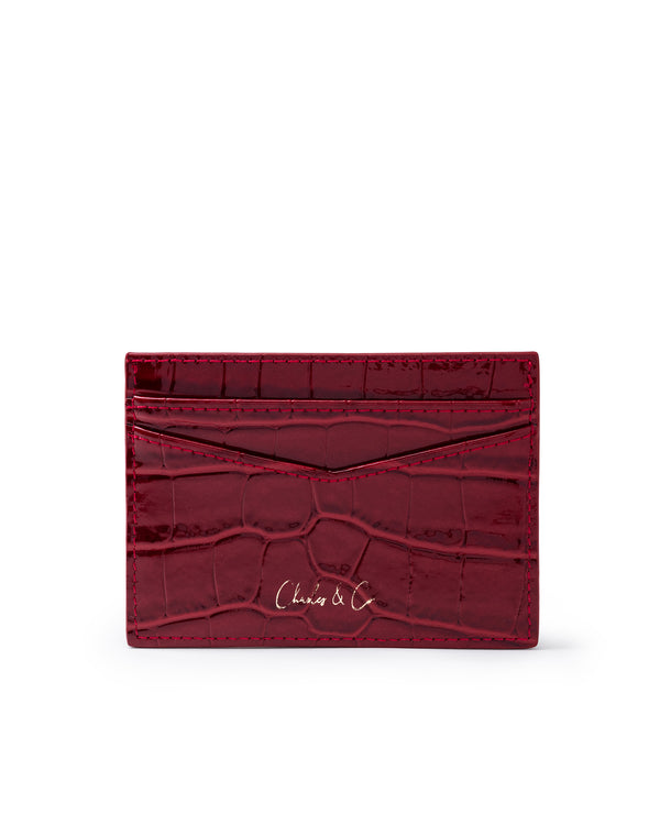 Crocodile Embossed  Card  Holder