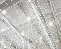 LED High Bay or Low Bay Lights: Perfect for Schools, Gyms, Garages, Warehouses, Hangars, and More