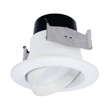 LA4 Gimbal LED Downlight - LA4069401EWH - 630 Lumens - 4000K
