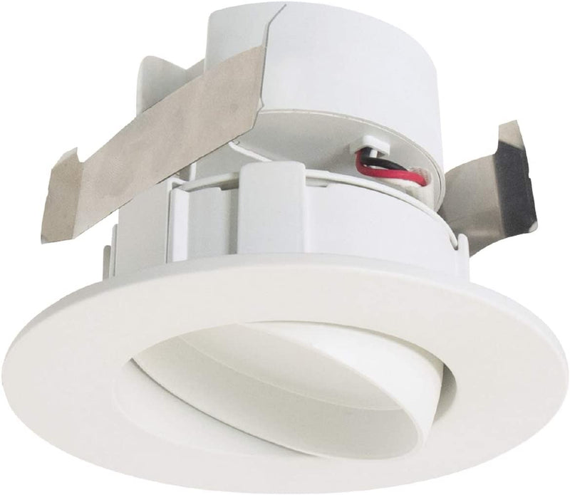Halo RA4069S1EWH, CCT SeleCCTable Gimbal LED Downlight, 615 Lumens