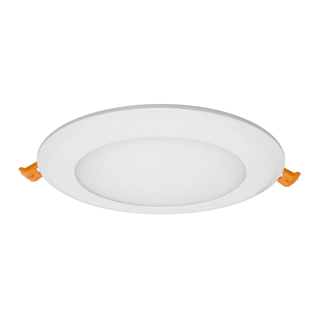 "6"" Edge Lit LED Downlight - DLE6-10-120V-5K-RD - 957 Lumens - 5000K"
