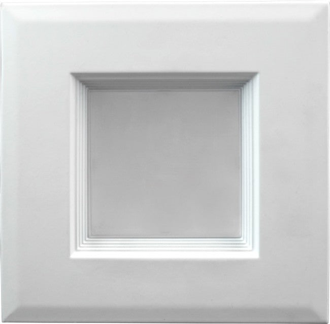 "4"" Square LED Downlight - DLQ4-10-120-3K-WH - 681 Lumens - 3000K"