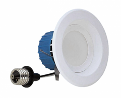DLR4-3006-120-3K-WH - 4 Inch LED Downlight - 3000K - 65W Equivalent