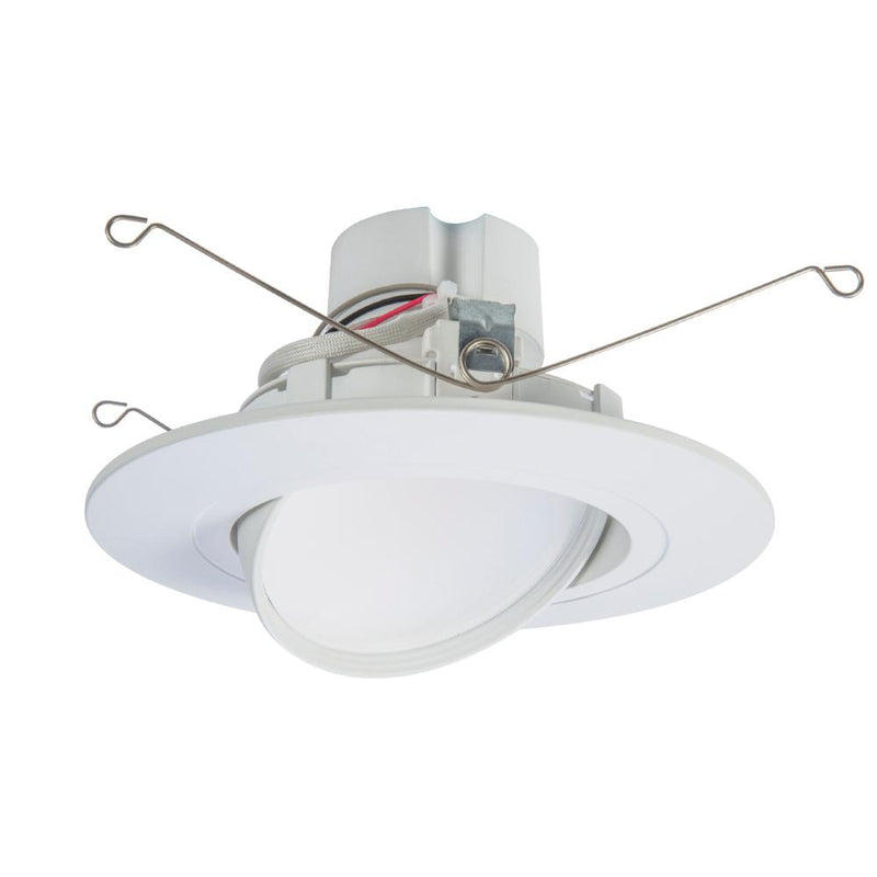 Halo RA56069S1EWH, CCT SeleCCTable Gimbal LED Downlight, 600 Lumens