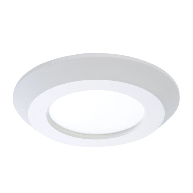 "4"" Surface Mount LED Downlight - SLD405935WH - 625 Lumens - 3500K"