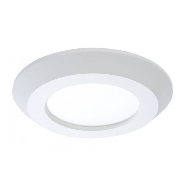 "4"" Surface Mount LED Downlight - SLD405940WH - 625 Lumens - 4000K"