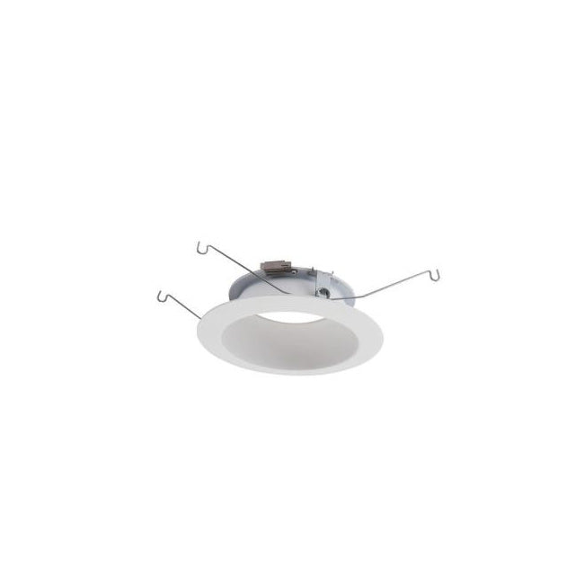 "5"" LED Trim, White Shallow Baffle Trim - 591WB"