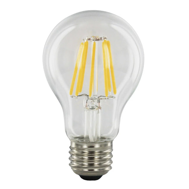 6 Watt Dimmable Vintage Filament A19 LED Bulb - E26 Base - 2700K - 60W Equivalent