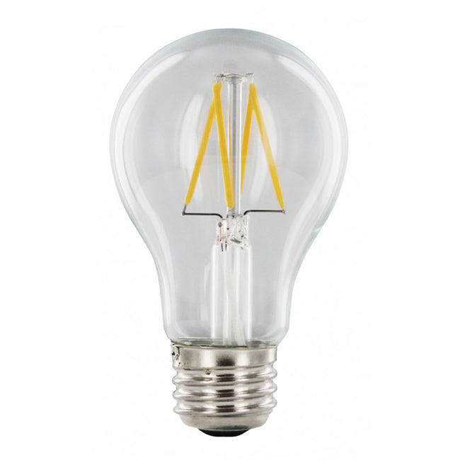 4 Watt Dimmable Vintage Filament A19 LED Bulb - E26 Base - 2700K - 40W Equivalent