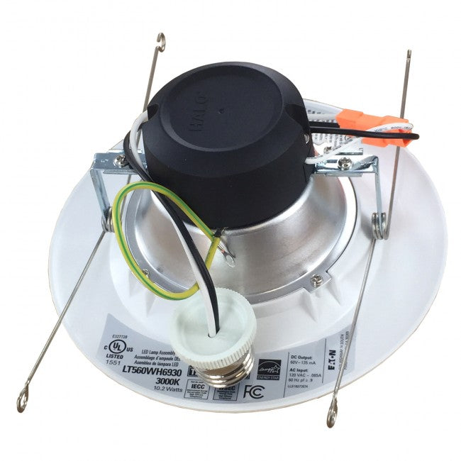 "Halo LT560WH6927, 5""/6"" LED Downlight, 687 Lumens, 2700K"