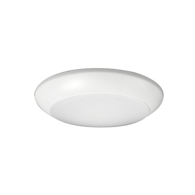 "4"" Low Profile LED Surface Mount, DSK4-1008-120-3K-WH, 863 Lumens, 3000K"