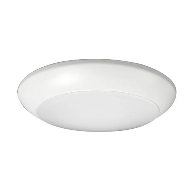 "6"" Low Profile LED Surface Mount, DSK56-1010-120-2K-WH, 890 Lumens, 2700K"