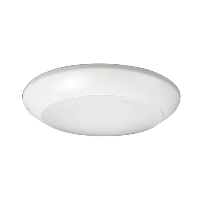 "4"" Low Profile LED Surface Mount - DSK4-1008-120-2K-WH - 730 Lumens - 2700K"