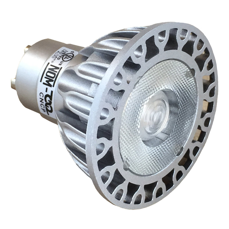 Vivid GU10 MR16 LED - 50W Equivalent - 01139 - 3000K - 36 Degree Beam