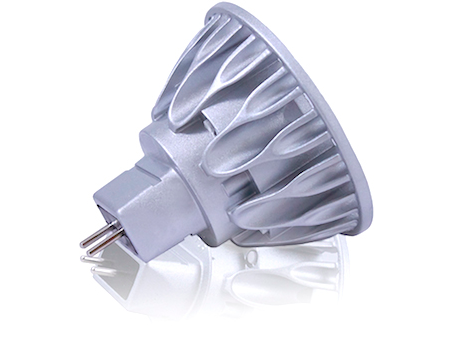 00919, Vivid MR16 LED, 50W Equivalent, 2700K, 10 Degree Beam