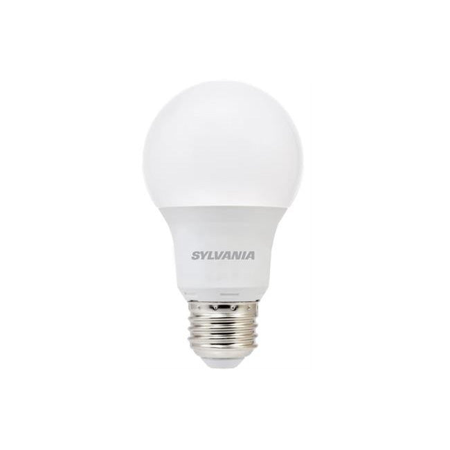 73886, A19 LED Bulb, 800 Lumens, 2700K, 60W Equivalent,  2 Pack