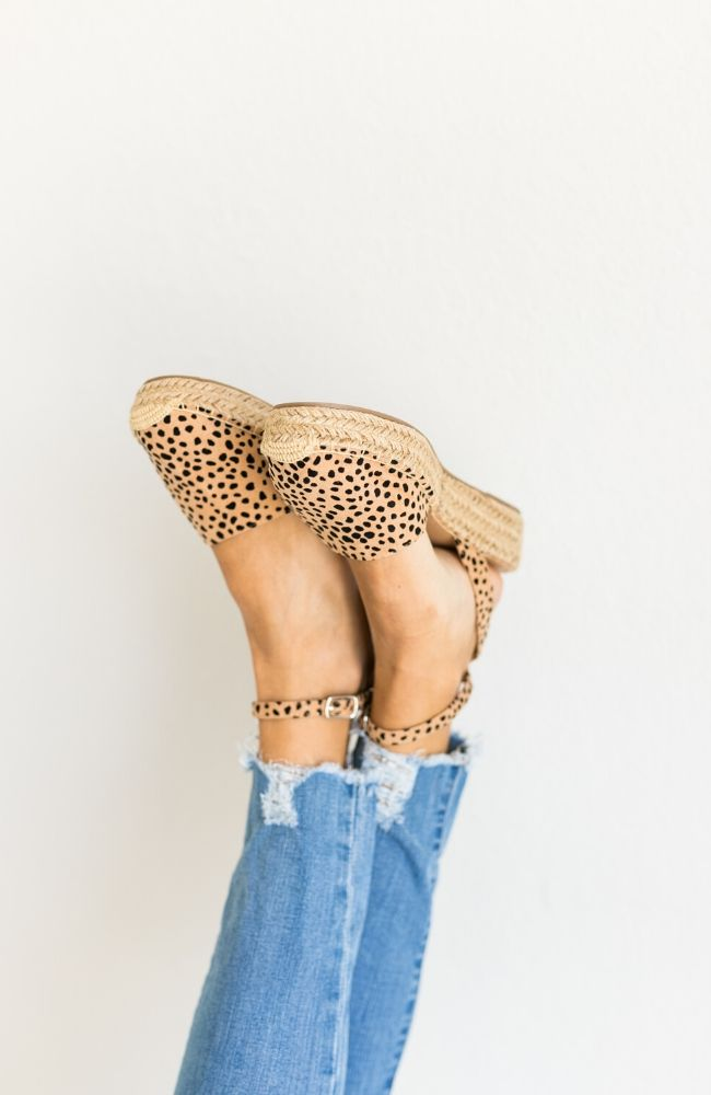 FIESTA CHEETAH WEDGE SHOE - ShopLawson