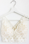 Off-white lace bralette - ShopLawson