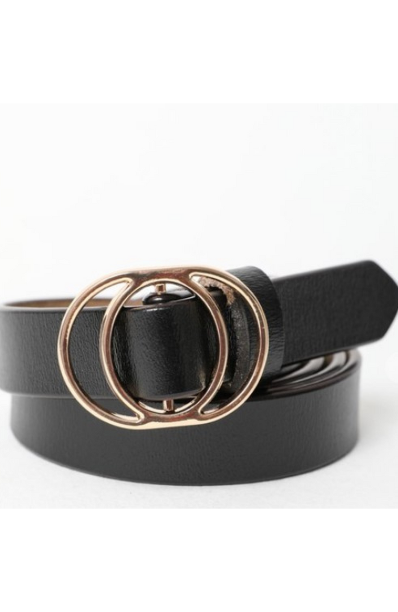 BLACK AND GOLD BELT - ShopLawson