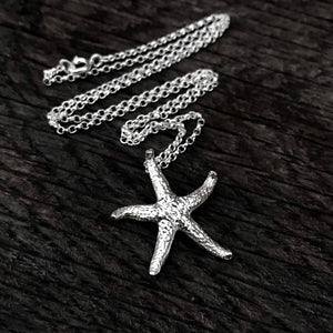 Sterling Silver Starfish Necklace