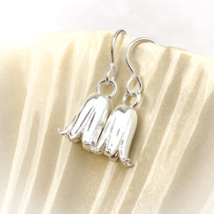 Bluebell Sterling Silver Drop Earrings