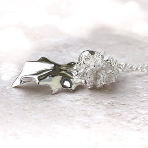 Sterling Silver Winter Charm Necklace